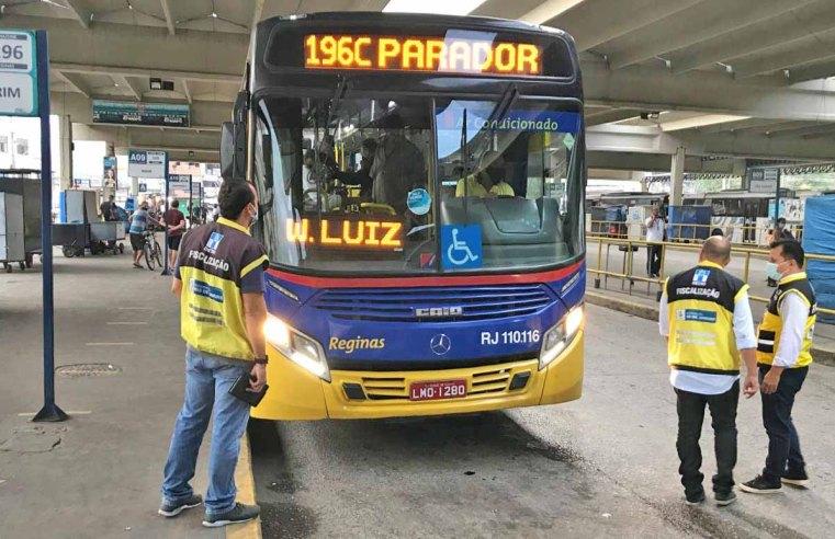 Rio: DETRO realiza operação no Terminal Rodoviário Américo Fontenelle – Central do Brasil