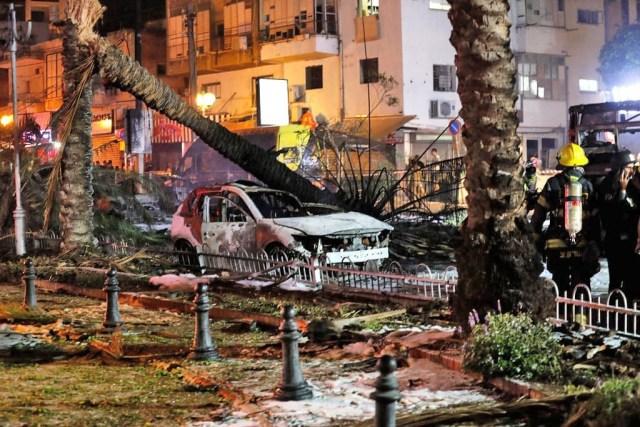 Vídeo: Hamas ataca região de Tel Aviv com foguetes e destrói prédios e ônibus - revistadoonibus
