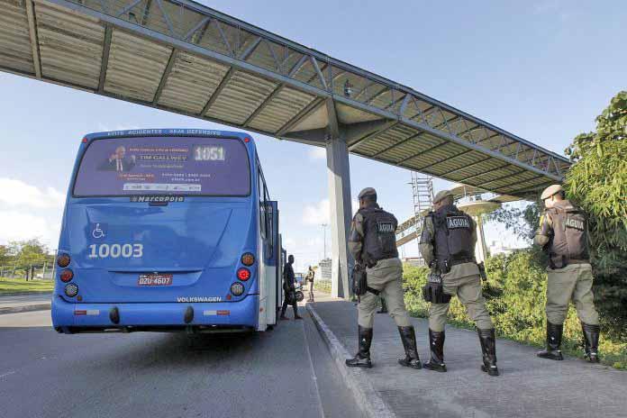 Bahia terá sistema de monitoramento por câmeras no combate a assaltos em ônibus