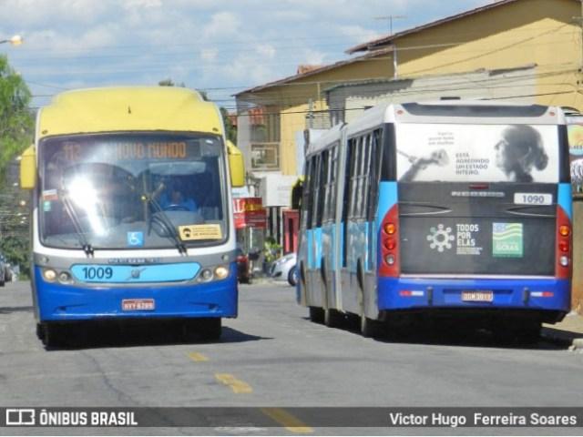 Goiânia: Rodoviários do MetroBus seguem com poucos ônibus circulando nesta manhã - revistadoonibus