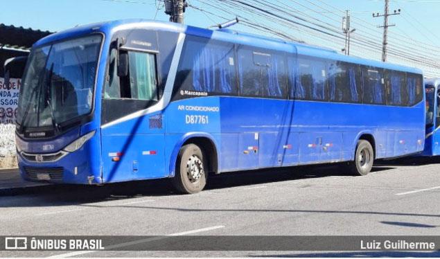 Rio: Ônibus da Expresso Pégaso para na rua por falta de combustível na Zona Oeste