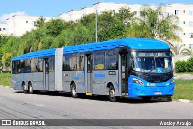 SP: Idosa é atropelada por BRT em Sorocaba nesta manhã - revistadoonibus