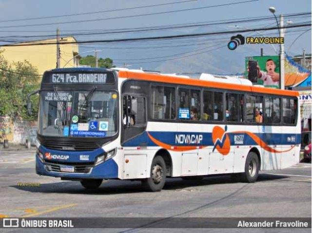 Rio: Bandidos roubam assentos de ônibus na Viação Novacap na Zona Norte - revistadoonibus