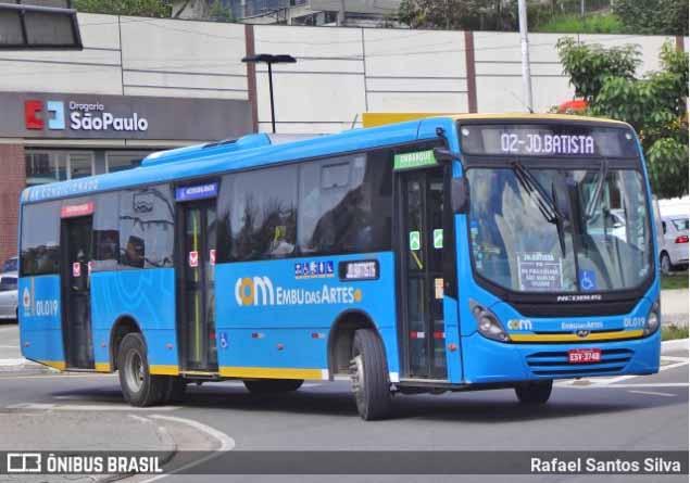 SP: Embu das Artes anuncia nova linha de ônibus