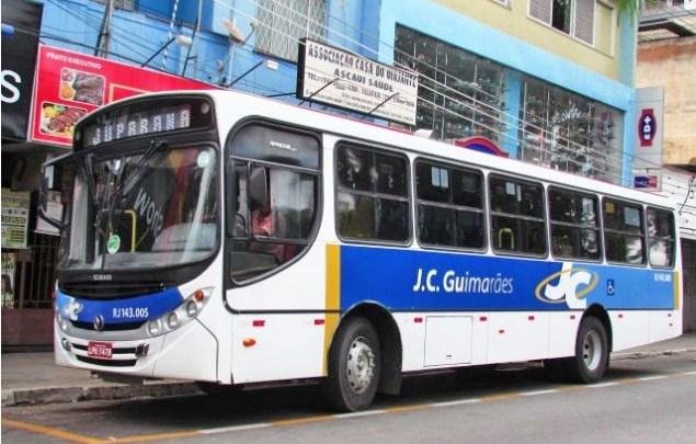 Vídeo: Detro aplica multa em ônibus da J C Guimarães Transporte por má prestação de serviço