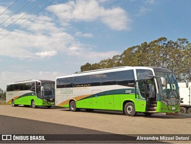 Turin Transportes renova frota com Busscar Vissta Buss 360 Mercedes-Benz