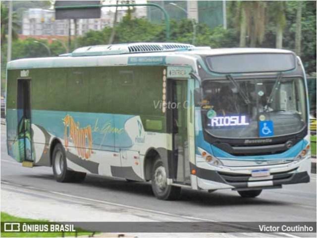 Vídeo: Viação Util incorpora ônibus urbano para atender shopping na zona sul do Rio de Janeiro - revistadoonibus