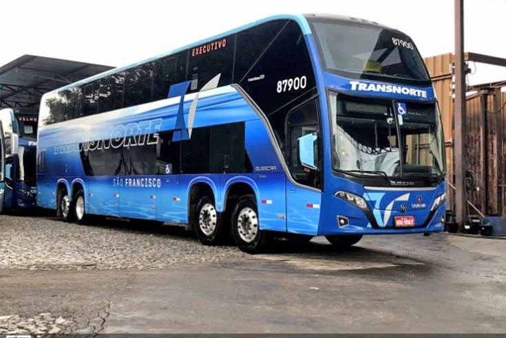 MG: Transnorte escala ônibus DD na linha Taiobeiras x Belo Horizonte e conquista mais passageiros