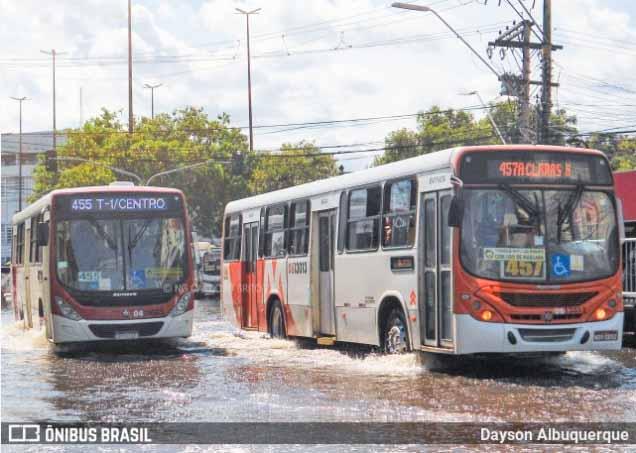 Manaus muda rota dos ônibus articulados no Centro por causa da cheia do Rio Negro - revistadoonibus