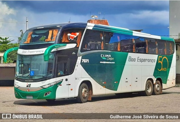 Boa Esperança renova parte da frota com 10 ônibus Paradiso New G7 1600 LD Scania