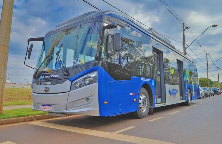 SP: Ribeirão Preto inicia teste com ônibus 100% elétrico