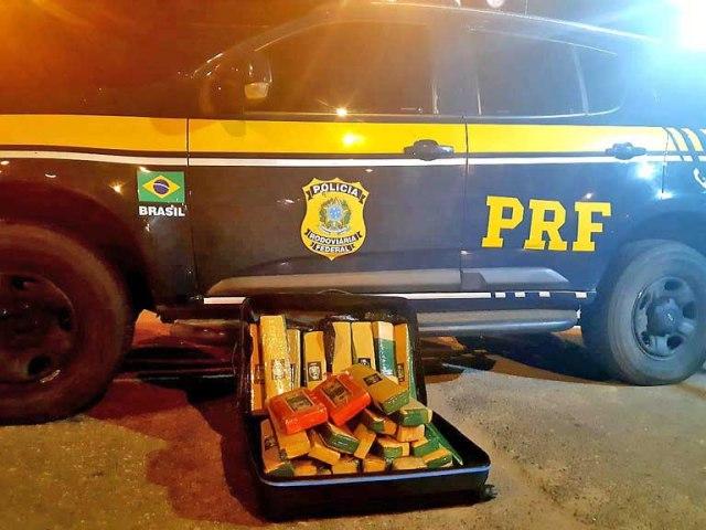 MG: Passageiro é preso na BR-116 durante fiscalização da PRF em Muriaé - revistadoonibus