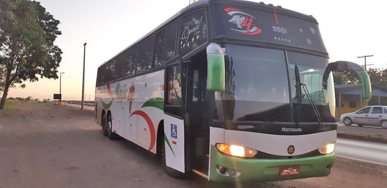 MT: PRF apreende ônibus que fazia viagem clandestina em Sorriso