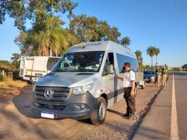 MS: Agepan coíbe transporte clandestino em fiscalizações em 11 localidades- revistadoonibus