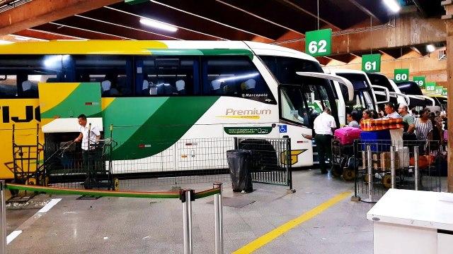 São Paulo: Prefeitura inicia triagem na na rodoviária do Tietê de passageiros vindos do Maranhão - revistadoonibus
