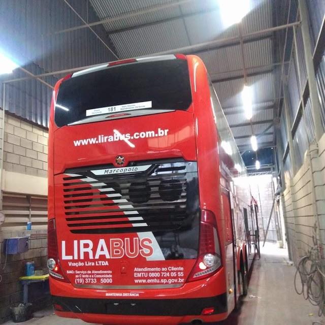 SP: LiraBus incorpora Paradiso New G7 1800 DD Volvo ex-Trans Acreana - revistadoonibus