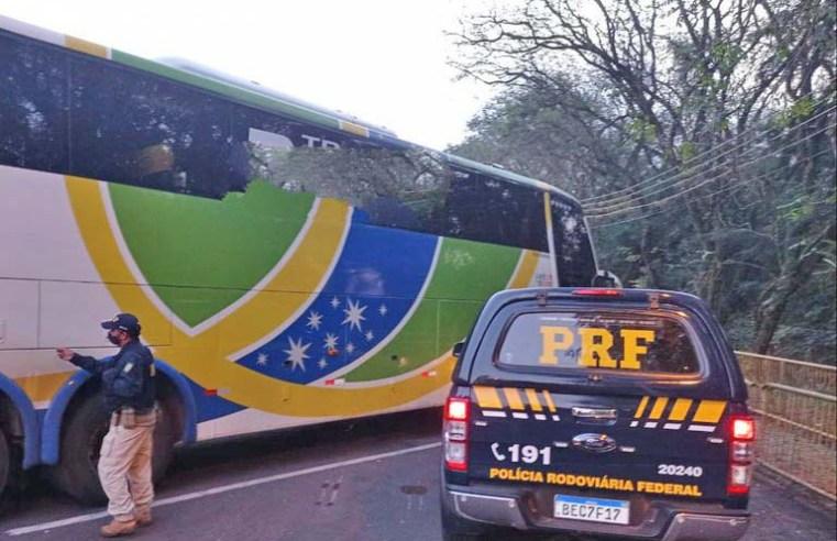PR: PRF apreende 300 garrafas de vinho em ônibus da TransBrasil em Guaíra