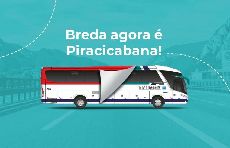 SP: Breda Transportes anuncia que passará ser Viação Piracicabana
