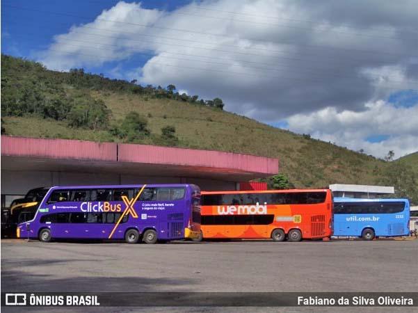Buser oferece passagem na Rio x Belo Horizonte por R$ 39,90, a tarifa mais barata para esta sexta-feira -ClickBus X - revistadoonibus