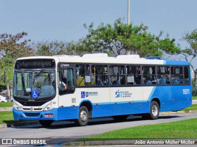 Florianópolis: Rodoviários da Canasvieiras Transportes realizam protesto nesta manhã