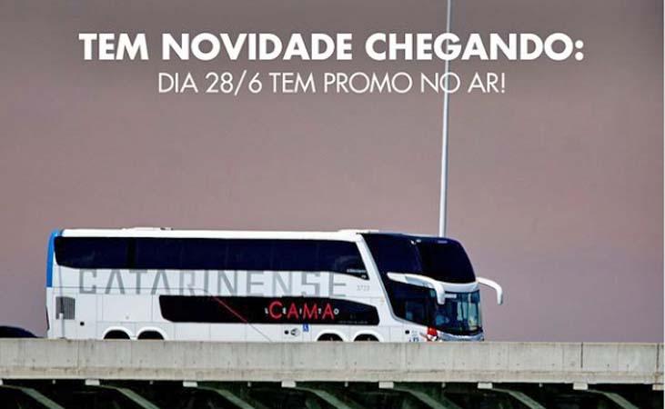 Catarinense anuncia que fará três dias de promoção para viagens em julho