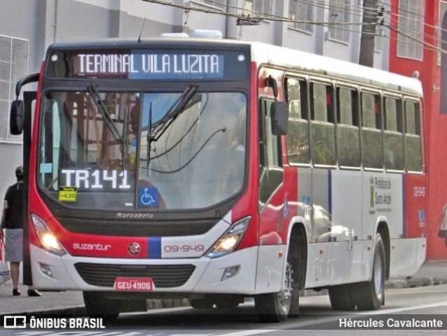 SP: Ônibus da Viação Cometa é incendiado durante protesto em Santo André - revistadoonibus