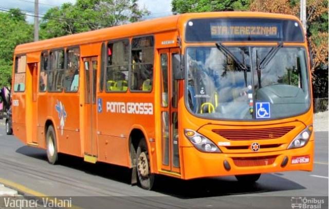 Ponta Grossa: Motorista de ônibus é agredido com foice durante assalto a ônibus - revistadoonibus