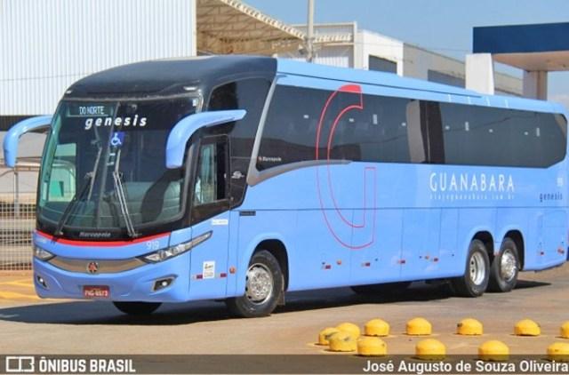 PI: Ônibus da Guanabara e carro de passeio são atingidos por tiros em Amarantes na BR-343 - revistadoonibus