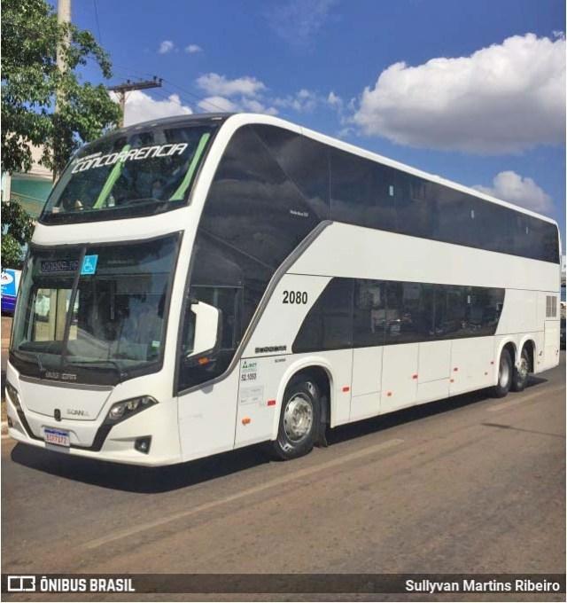 Expresso Concorrência incorpora Busscar Vissta Buss DD 8x2 ex-Kaissara - revistadoonibus