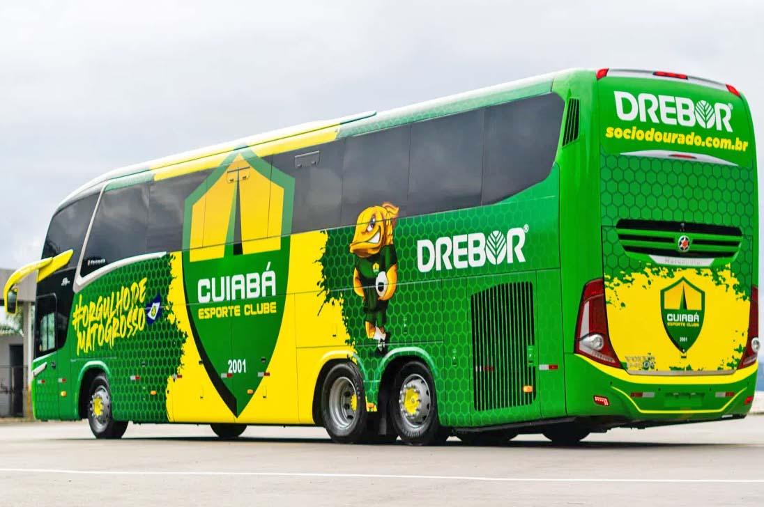 MT: Novo ônibus do Cuiabá Esporte Clube deve ser apresenta nos próximos dias