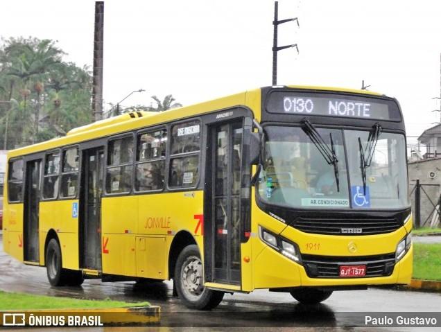 SC: Joinville voltar ter ônibus circulando com maior capacidade de passageiros