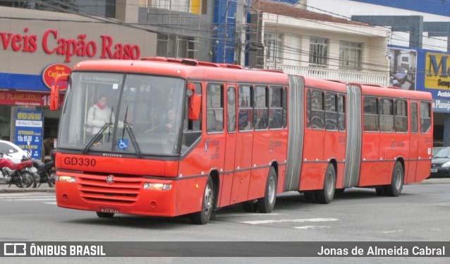 Curitiba fará leilão de sucata de ônibus biarticulado no dia 8 de junho