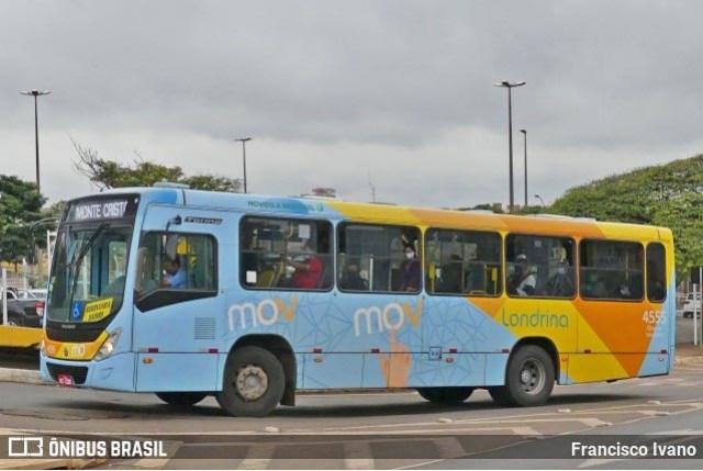 PR: Acidente entre moto e ônibus deixa um ferido no Centro de Londrina - revistadoonibus
