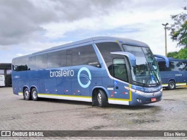 BA: Acidente entre carro e ônibus da Brasileiro chama a atenção na BA-263 - revistadoonibus