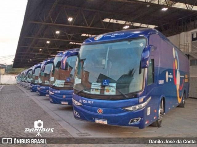 Rio: 1001 fará o transporte de delegações durante a Copa do Brasil - revistadoonibus