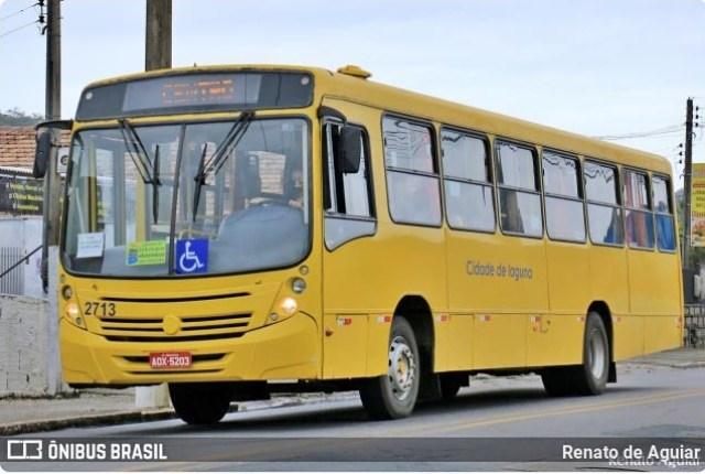 SC: Lagunatur Transportes suspende linha de ônibus por causa da chuva - revistadoonibus