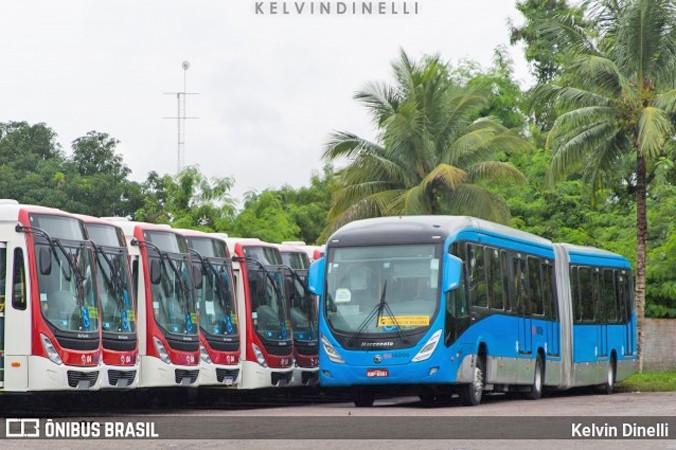 Manaus amanhece sem ônibus nesta segunda-feira devido onda de violência