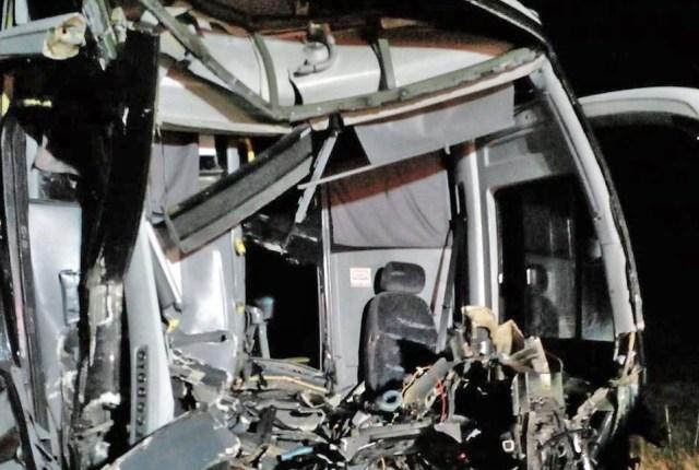 SC: Acidente entre ônibus e caminhão deixa dois feridos na BR-470 em São Cristóvão do Sul - revistadoonibus