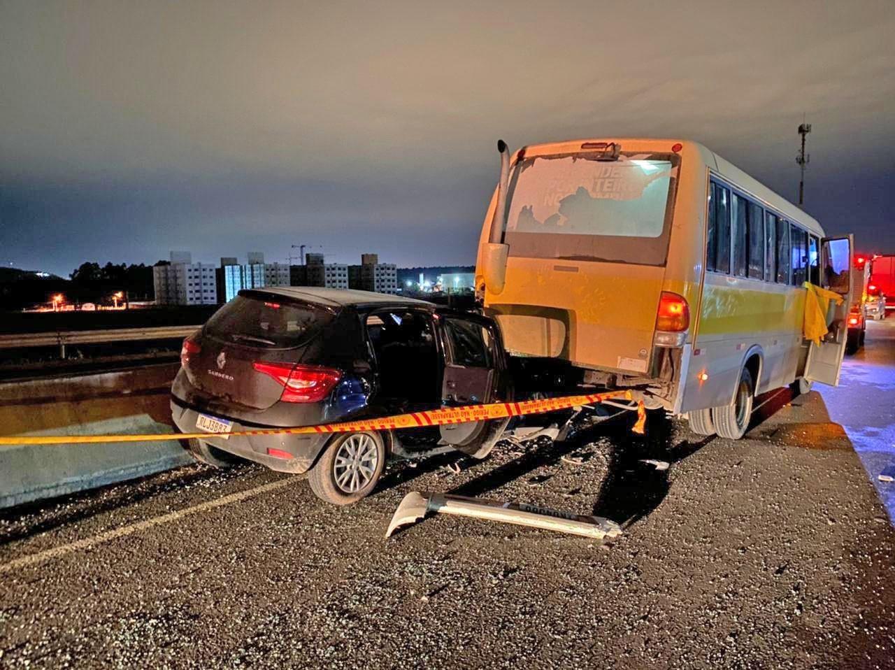 SC: Motorista de micro-ônibus morre em acidente na cidade de Itajaí