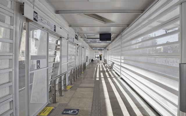 Prefeitura do Rio informa que reabriu a estação Olaria, no corredor Transcarioca - revistadoonibus