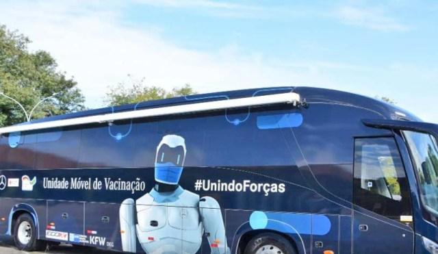 Cruz Vermelha Brasileira ganha dois ônibus para campanha de vacinação contra a COVID-19 - revistadoonibus