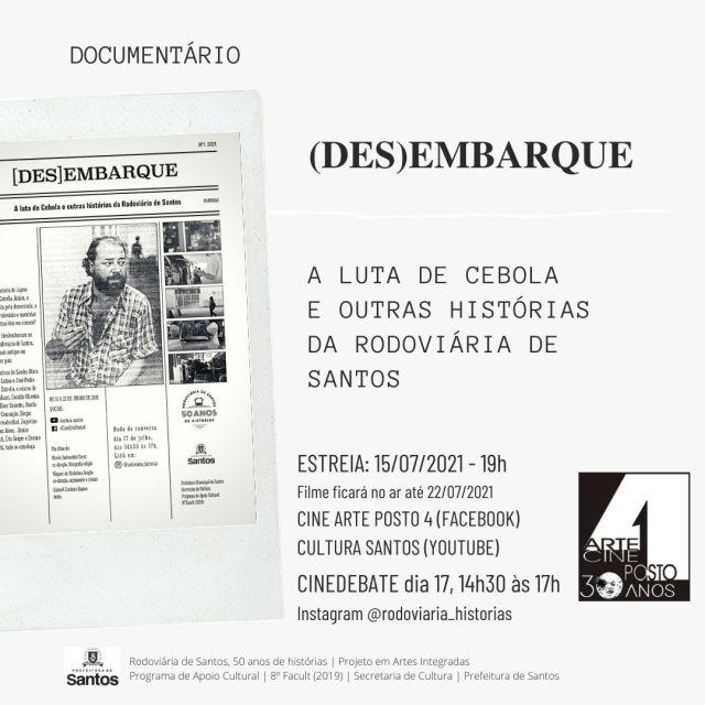 Vídeo: Documentário Desembarque entrelaça histórias sobre a Rodoviária de Santos - revistadoonibus