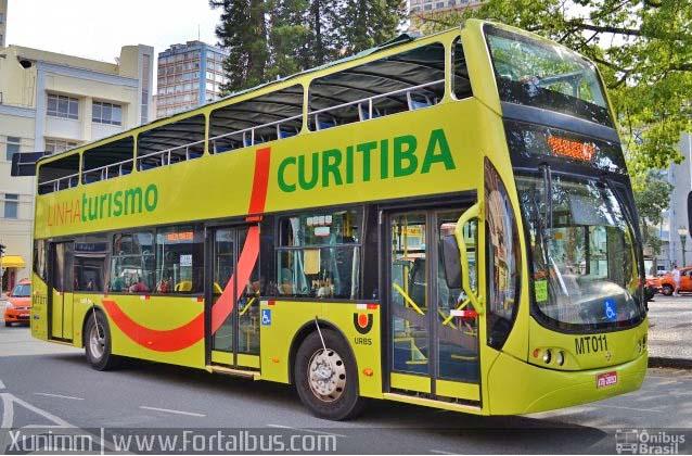 Curitiba: Linha Turismo volta a funcionar a partir deste sábado