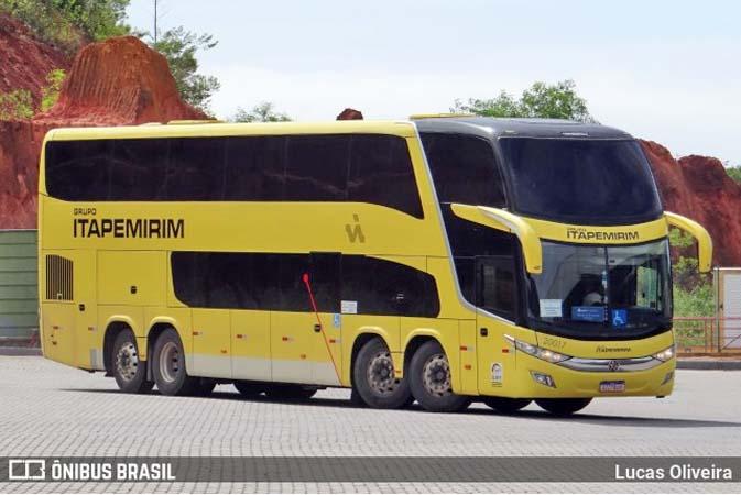 Viação Itapemirim conquista mais passageiros na linha Belo Horizonte x Guarapari no double deck