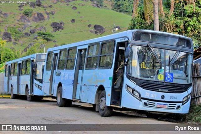 RJ: Ônibus da STI Macaé pega fogo nesta manhã - Vídeo - revistadoonibus