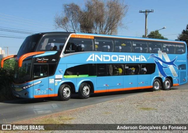 MS: Andorinha disponibiliza ônibus DD leito na Campo Grande x Corumbá - revistadoonibus