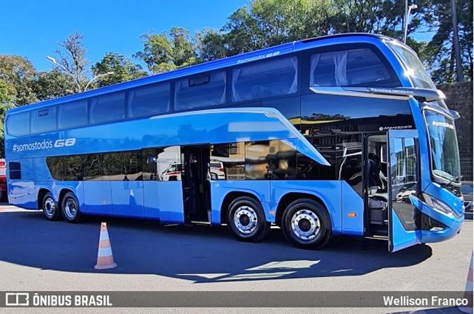 Viação Aguia BrancA deve receber 8 novos ônibus Marcopolo G8 DD 8x2 - revistadoonibus
