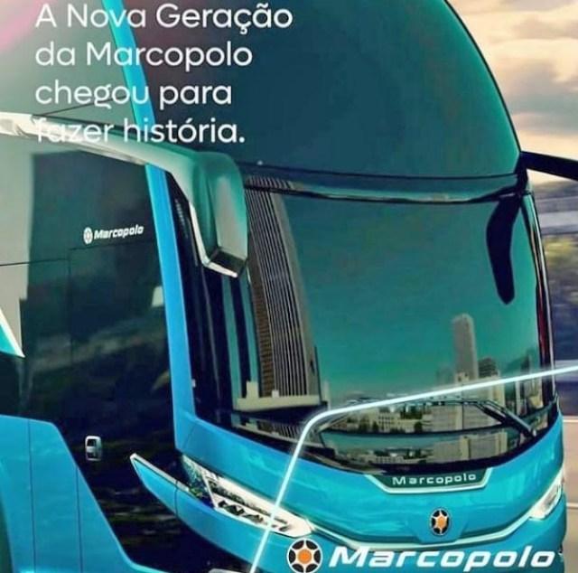 Novo ônibus Marcopolo G8 possui fotos divulgadas em redes sociais - revistadoonibus