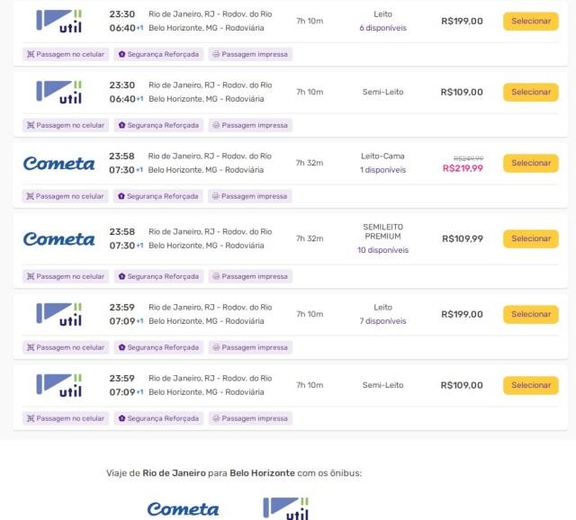 Viação Cometa conquista mais passageiros com o serviço Leito Cama na Rio x BH - revistadoonibus