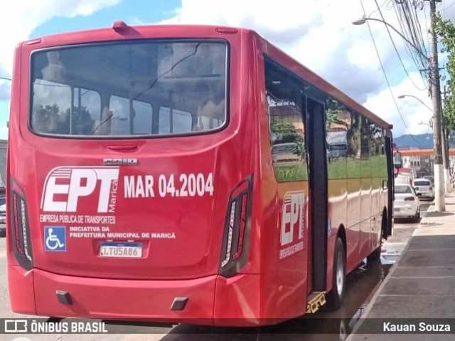 RJ: Acidente com ônibus vermelhinho deixa cinco feridos em Maricá - revistadoonibus